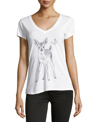 Signorelli Deer Graphic Tee White