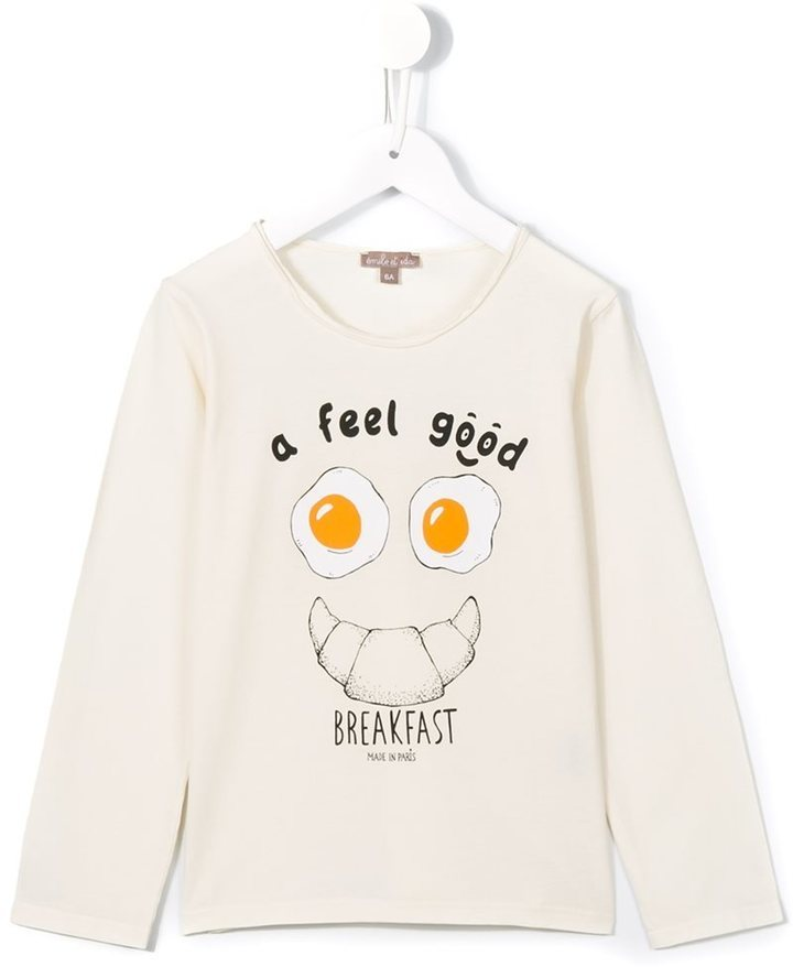 Emile et Ida Feel Good Print T Shirt