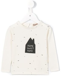 Emile et Ida Home Sweet Home Print Top