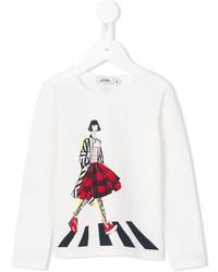 Junior Gaultier Girl Print T Shirt