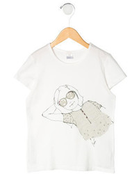 Chloé Girls Printed T Shirt