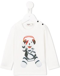 Junior Gaultier Teddy Bear Printed T Shirt