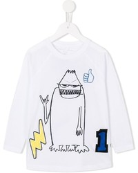 Stella McCartney Kids Max Monster Print T Shirt