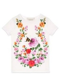 6e79eb3eff3a Gucci 4T Out of stock · Gucci Little Girls Girls Flower Bees Printed T Shirt