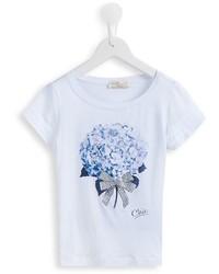 MonnaLisa Floral Print T Shirt