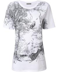 Alexander McQueen Nature Print T Shirt