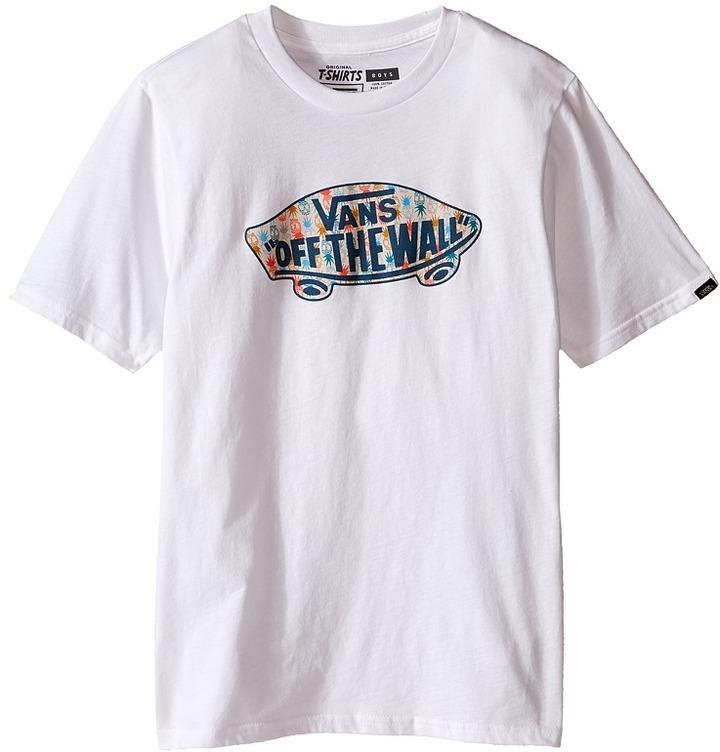 Vans Kids Otw Logo Fill T Shirt Boys T Shirt