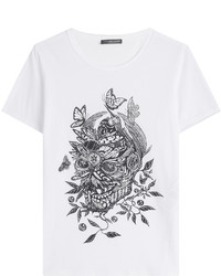 Alexander McQueen Printed Cotton T Shirt