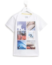 Armani Junior Printed T Shirt