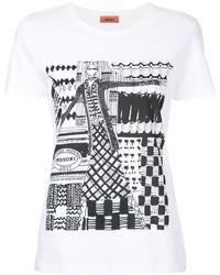 Missoni Sketch Print T Shirt