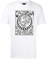 Vans Stained Glass Print T Shirt
