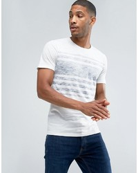 ONLY & SONS T Shirt With Reverse Stripe Print