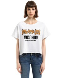 Moschino Underbear Printed Cotton Jersey T Shirt