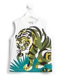 Kenzo Kids Tiger Print Tank Top