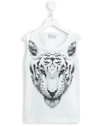 Marcelo Burlon County Of Milan Kids Tiger Print Tank Top