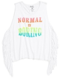 Flowers by Zoe Normal Is Boring Graphic Tank