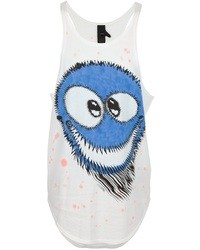 Bernhard Willhelm Tie Dye Smiley Print Tank Top With Spots