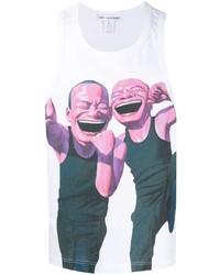 Comme Des Garcons SHIRT Comme Des Garons Shirt Graphic Print Tank Top