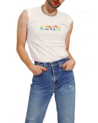 Levi's Community Pride Logo Graphic Muscle Tee