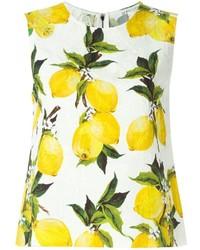 Dolce & Gabbana Lemon Print Tank Top