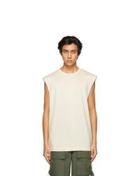 Juun.J Off White Seoulsoul Sleeveless T Shirt