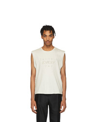 Saint Laurent Off White Trouble Every Day T Shirt