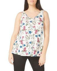 Plus size floral print tank medium 3996709