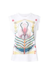Chloé Printed Sleeveless T Shirt