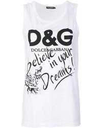 Dolce & Gabbana Printed Tank Top