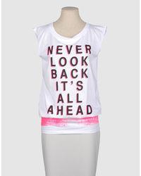 MSGM Sleeveless T Shirts
