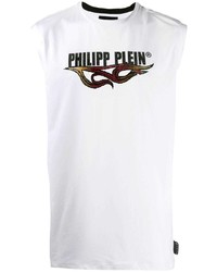 Philipp Plein Tank Top Flame