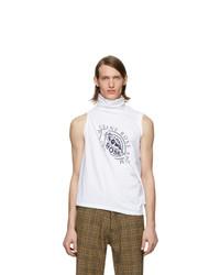 Martine Rose White Two Way T Shirt