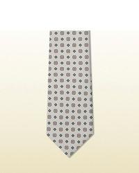 Gucci Original Print Habutai Silk Tie