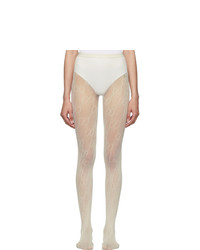 Gucci Off White Gg Tights