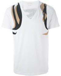 Alexander McQueen Abstract Print T Shirt