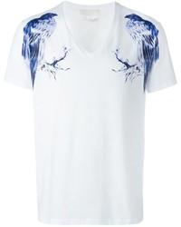 Bird print t shirt medium 586750