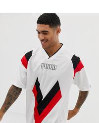 Puma Heritage Football T Shirt White