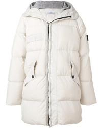 White Puffer Coat