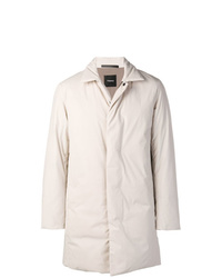 Theory Single Breasted Padded Coat