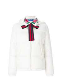 Gucci Embroidered Padded Jacket