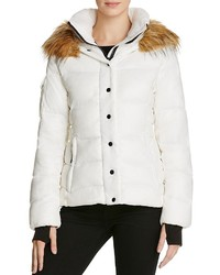 Aqua Kelly Short Puffer Jacket 100%