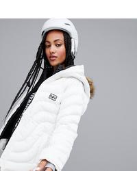 Billabong Soffya Ski Jacket In White