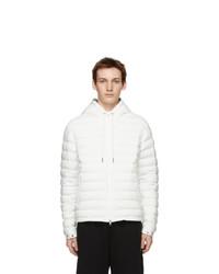 Moncler White Down Eus Jacket