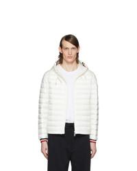 Moncler White Down Giroux Jacket