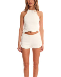3.1 Phillip Lim Silk Cord Crop Top