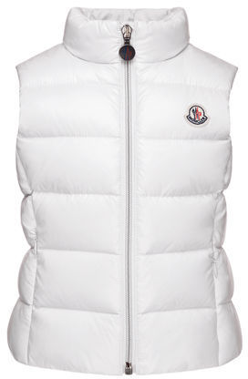 Moncler Ghany Quilted Down Vest Size 4 6