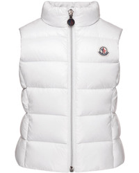 Moncler Ghany Quilted Down Vest Size 8 14