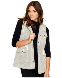 BB Dakota Jack By Regas Herringbone French Terry Quilted Vest Vest