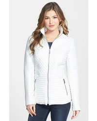 DKNY Keely Stand Collar Quilted Jacket