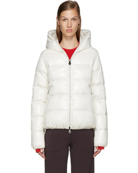 Duvetica White Quilted Down Jacket
